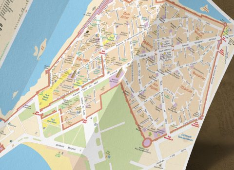 Plan de Marrakech et Essaouira