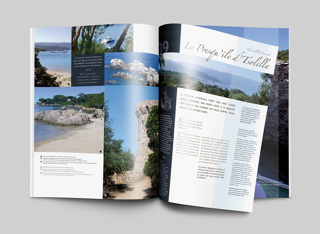 Double page brochure Altagna