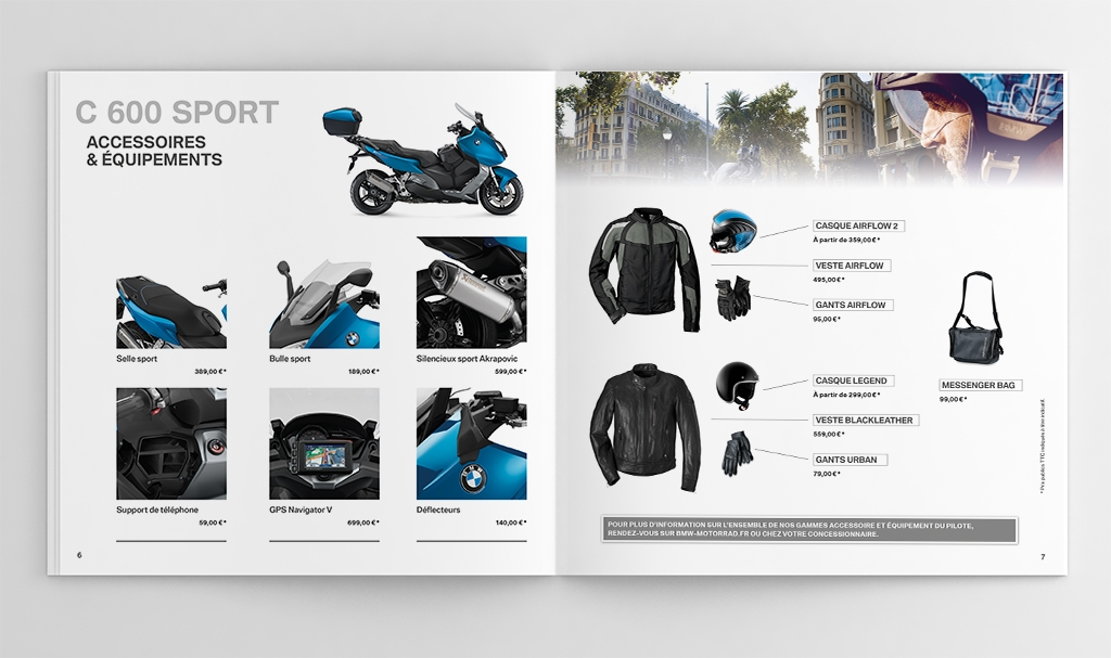 Catalogue scooters BMW C 600 Sport