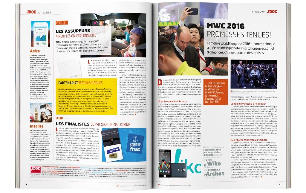 JDOC numéro 7 double page Actus / News