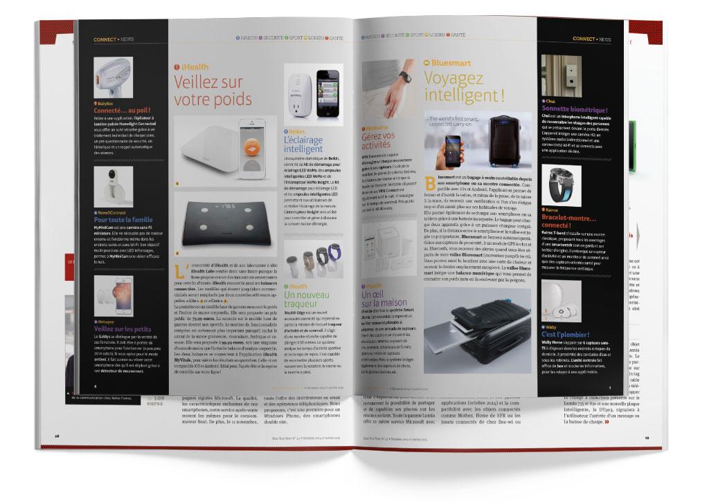 Cahier High-Tech & Connect double-page produits