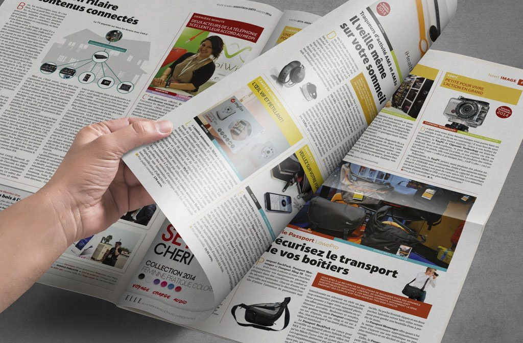 Double-pages High-Tech Days